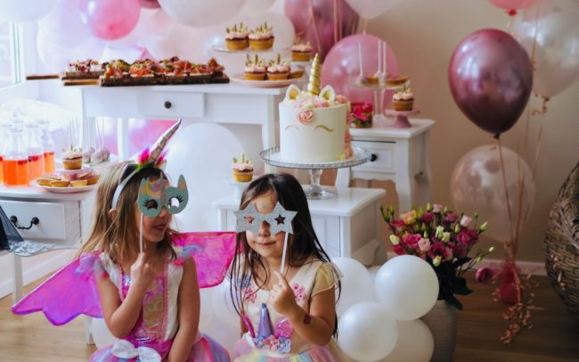 Balónky s héliem na dětskou oslavu